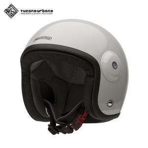 투카노 어바노 투카노 오토바이 헬멧 아이스 화이트