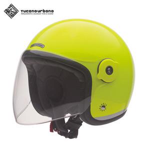 투카노 어바노 투카노 오토바이 헬멧 플루오 옐로우