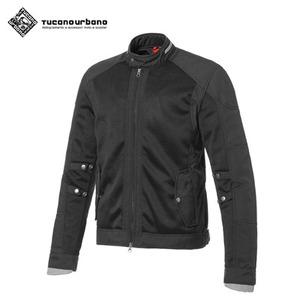 투카노 어바노 투카노 클래식바이커컷 오토바이 메쉬 자켓 말롱 블랙